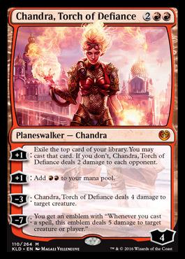 Chandra, Torch of Defiance | KALADESH Visual Spoiler Planeswalker Deck Kaladesh