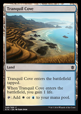 Spoilers Khans of Tarkir Tranquilcove