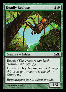 Magic The Gathering Deadly Recluse