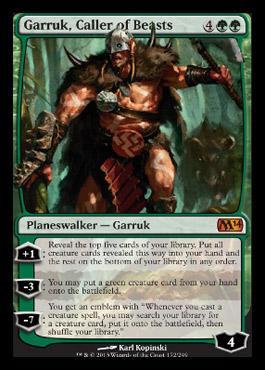 Garruk Cards