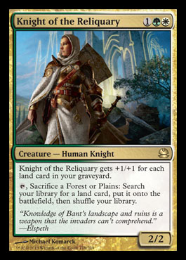knight of the reliquary modern masters