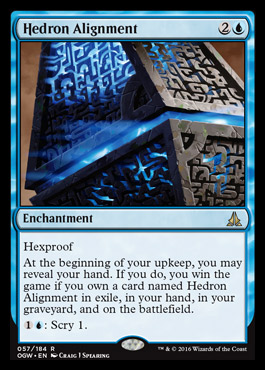 Hedron Alignment Oath Of The Gatewatch Mtg Visual Spoiler