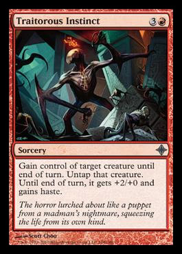 portent of betrayal mtg visual spoiler On portent of betrayal