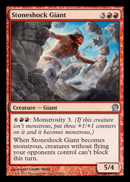 stoneshock giant theros