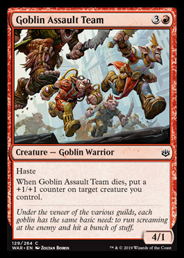 goblin assoult team