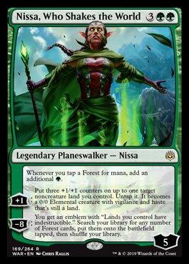 nissa, who shakes the world