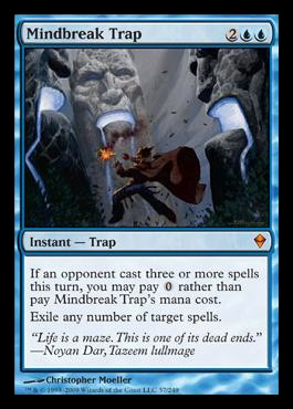 summary dismissal There's not a lot of uncounterable spells kicking around in standard right now, but there are a few (like rending volley and a spell mastery-enabled exquisite.