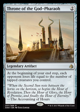 Amonkhet AKH MTG Artifacts Numbers 225 to 238