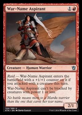 War-Name Aspirant